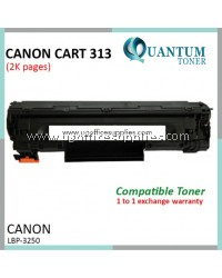 Canon 313 / CRG 313 High Quality Compatible Laser Toner Black Cartridge for For Canon LBP-3250 LBP3250 / HP M1120 / M1120a / M1120h M1120n / M1120w / M1522n M1522nf / M1522nt / P1503 P1503n / P1504 / P1504n / P1505 P1505n / P1506 Printer Ink