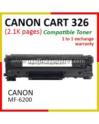 Canon 326 / Cartridge 326 / CART 326 / CRG326 High Quality Compatible Laser Toner Black Cartridge for Canon imageCLASS LBP-6230dn LBP6230dn LBP6230 / LaserSHOT LBP-6200d LBP6200d LBP6200 Printer Ink