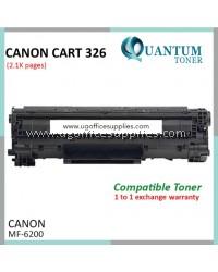 Canon 326 / Cartridge 326 / CART 326 / CRG326 BK High Quality Compatible Laser Toner Black Cartridge for Canon imageCLASS LBP-6230dn LBP6230dn LBP6230 / Canon LaserSHOT LBP-6200d LBP6200d LBP6200 Printer Ink
