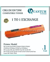 Canon 329 / Cartridge 329 / CRG 329 / CART 329 MG High Quality Compatible Color Laser Toner Magenta Cartridge for Canon LBP7018c LBP-7018C LBP7018 7018c / LBP7010c LBP-7010C LBP7010 7010c / LBP-7510 LBP7510 / LBP-7510C LBP7510C Printer Ink
