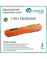 Canon 329 / Cartridge 329 / CRG 329 / CART 329 High Quality Compatible Toner Yellow Cartridge for Canon LBP7018c LBP-7018C LBP7018 7018c / LBP7010c LBP-7010C LBP7010 7010c / LBP-7510 LBP7510 / LBP-7510C LBP7510C Printer Ink