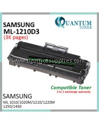 Samsung ML-1210D3 / ML1210 / ML1210D3 High Quality Compatible Laser Toner Black Cartridge for Samsung ML-1210 / ML-1220M ML1210M / ML-1250 ML1250 / ML-1430 ML1430 / ML-1010 ML1010 / ML-1020M ML1020M Printer Ink