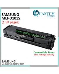 Samsung MLT-D101S / MLT101S High Quality Compatible Toner for Samsung ML2161 ML2160 ML2164 ML2164W ML2165 ML2166W ML2165W SCX3400 SCX3401 SCX3405 SCX3406 SCX3407 SCX3401FH SCX3405W SCX3405FW SCX3406W SCX3406HW SF761 SF761P SF760P Printer