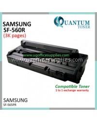 Samsung 560RA / SF-D560RA / SFD560RA / SF-565PR / SF-560R / 560 BK High Quality Compatible Laser Toner Black Cartridge SF-560R / SF-565PR Printer Ink