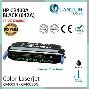 HP 642A / CB400A / 400A BK High Quality Compatible Color Laser Toner Black Cartridge HP Color LaserJet CP4005 / CP4005N / CP4005DN / MFP M476nw / MFP M476dn / MFP M476dw Printer Ink