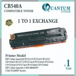 HP 125A / CB540A BK High Quality Compatible Color Laser Toner Black Cartridge for HP Color LaserJet CP1210 / CP1215 / CP1510 / CP1515 / CP1515n / CP1518 / CP1518NI / CM1300 / CM1312 MFP / CM1312NFI MFP / CM1512 MFP Printer Ink