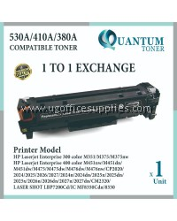 HP 304A / CC530A BK High Quality Compatible Color Laser Toner Black HP Color LaserJet CP2025 / CP2025N / CP2025DN / CP2025X / CM2320 / CM2320FXI / CM2320NF Printer Ink