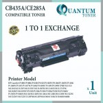 HP 85A / CE285A / 285A 285  BK High Quality Compatible Laser Toner Black Cartridge HP LaserJet P1102 / P1102W / M1212NF / M1217NFW / P1100 / P1102W / PRO M1132 / P1100 / PRO M1130 / M1132 / M1210 / M1214NFH PRINTER INK