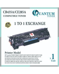HP CE285A / 85A / 285 / CB425A BK High Quality Compatible Laser Toner Black Cartridge for HP LaserJet P1102 / P1102W / M1212NF / M1217NFW / P1100 / P1102W / PRO M1132 / P1100 / PRO M1130 / M1132 / M1210 / M1214NFH Printer Ink