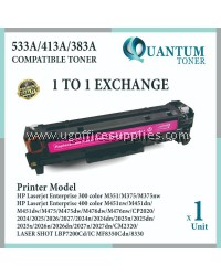 HP 126A / CE313A / CF353A MG High Quality Compatible Color Laser Toner Magenta Cartridge for HP LaserJet Pro CP1025 / CP1025NW / MFP M175 / MFP M175A / MFP M175NW / MFP M275NW Printer Ink