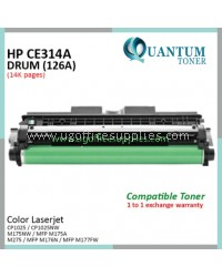 HP 126A / CE314A / CE314 / 314 High Quality Imaging Drum Kit for HP LaserJet Pro CP1025 / CP1025NW / LaserJet Pro 100 M175NW / MFP M175A / M275 / MFP M176N / MFP M177FW Printer Drum Unit