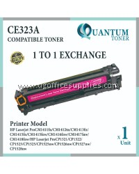 HP 128A / CE323A High Quality Compatible Color Laser Toner Magenta Cartridge for HP Color LaserJet Pro CP1525 CP1525N / CP1525NW / MFP CM1415 CM1415FN / CM1415FNW Printer Ink
