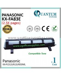 Panasonic KX-FA83E / KXFA83E / FA-83E BK High Quality Compatible Laser Toner Black Cartridge for Panasonic KX-FL511 KX-FL512 KX-FL513 KX-FL540 KX-FL541 KX-FL543 KX-FL611 KX-FL612 KX-FL613 FLM668CN FLM653CN FLM758ML Printer Ink