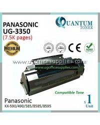 Panasonic UG3350 / UG-3350 / 3350 BK High Quality Compatible Laser Toner Black Cartridge for Panasonic UF-580 / UF-585 / UF-588 / UF-590 / UF-595 / UF-5100 / UF-5300 / UF-6100 / UF-6300 ALCATEL MODELS FAX 3769 / 3779 Printer Ink