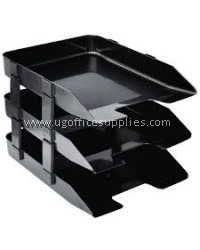 3 TIER DOCUMENT TRAY (PLASTIC)