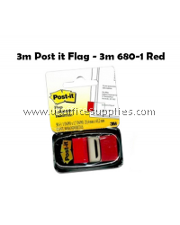 3M POST IT 680-1 RED COLOUR TAPE
