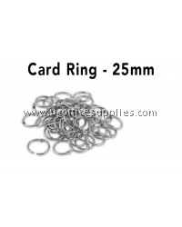 CARD RING 25MM 10's