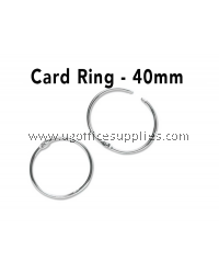 CARD RING 40MM 10's