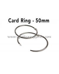 CARD RING 50MM 10's
