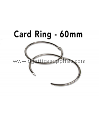 CARD RING 60MM 10's