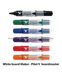 PILOT V BOARDMASTER WHITEBOARD MARKER BLACK