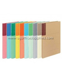 KOKUYO A4-S SOFT COLOUR FLAT FILE