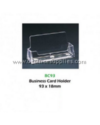 BUSINESS CARD HOLDER ACRYLIC