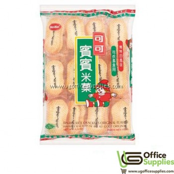BIN BIN ORIGINAL RICE CRACKERS 150G