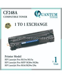HP CF248A 48A CF248 248A BK High Quality Compatible Laser Toner Black Cartridge For HP LASERJET M15 M28 PRO M15A 15A / M15W 15W / MFP M28A MFP-M28A MFP 28A / MFP M28W MFP-M28W MFP 28W Printer Ink