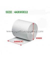 CASH REGISTER PAPER ROLLS 44 x 65 x 12 - 100 ROLLS