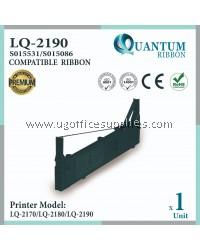 Epson LQ2190 / LQ 2190 / LQ-2190 Compatible Printer Ribbon S015531 / S015086 for LQ-2170 LQ 2170 LQ2170 / LQ-2190 LQ 2190 LQ2190 / LQ-2180 LQ 2180 LQ2180 Dot Matrix Printer
