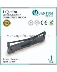 Epson LQ590 / LQ 590 / LQ-590 Compatible Printer Ribbon S015589 / S015337 for Epson LQ-590 Dot Matrix Printer