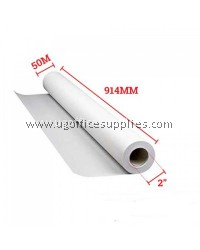 "PLOTTER PAPER AO+ 914mm(W) x 50m(L) x 2""(C) - MOQ 3ROLL"