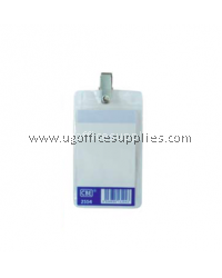 CBE 2554 PVC NAME BADGE WITH CLIP