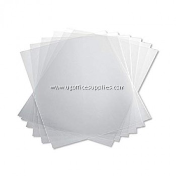 A4 CLEAR RIGID SHEET (100's)