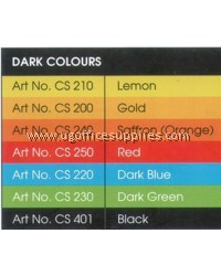 2 SHEET CARD 120gsm A4 (DEEP COLOUR)