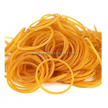 BROWN RUBBER BAND (1KG)
