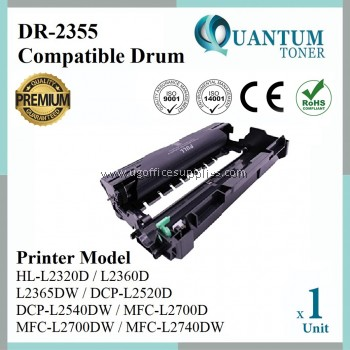 Brother DR2355 DR-2355 DR-2380 High Quality Compatible Drum Cartridge for HL-L2360DN HL L2360DN / HL-L2365DW HL L2365DW / DCP-L2540DW DCP L2540DW / MFC-L2700D MFC L2700D / MFC-L2700DW MFC L2700DW / MFC-L2740DW MFC L2740DW Printer Drum Kit