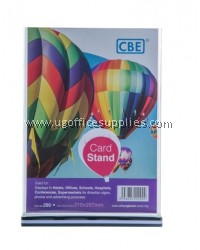 CBE 290 CARD STAND (210mm x 297mm)