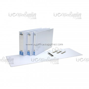 East File 2D Ring PVC File A4 (80mm)