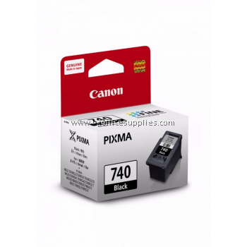 CANON PG-740BK BLACK ORIGINAL INK CARTRIDGE