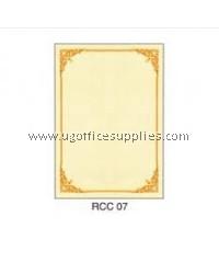 RCC 07 CERTIFICATE PAPER