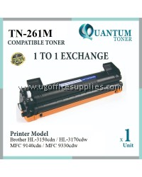 Brother TN-261 TN-265 TN261 TN265 MG High Quality Compatible Laser Toner Magenta Cartridge for HL-3150CDN HL-3170CDW MFC-9140CDN MFC-9330CDW HL3150CDN HL3170CDW MFC9140CDN MFC9330CDW HL 3150CDN HL 3170CDW MFC 9140CDN MFC 9330CDW Printer Ink