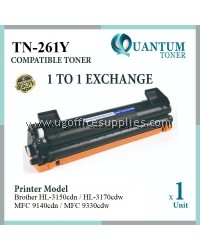 Brother TN-261 TN-265 TN261 TN265 YW High Quality Compatible Color Laser Toner Yellow Cartridge for HL-3150CDN HL-3170CDW MFC-9140CDN MFC-9330CDW HL3150CDN HL3170CDW MFC9140CDN MFC9330CDW HL 3150CDN HL 3170CDW MFC 9140CDN MFC 9330CDW Printer Ink