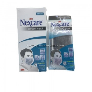 3M 4 Ply Nexcare Carbon Face Mask