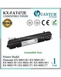 Panasonic KX-FAT472E / KXFAT472E / KX FAT 472E / 472E BK High Quality Compatible Laser Toner Black Cartridge for Panasonic KX-MB2120 KX-MB2128 KX-MB2130 KX-MB2138 KX-MB2168 KX-MB2170 KX-MB2137 KX-MB2177 Printer Ink