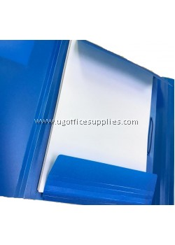 Bantex 3 Flap PP Document File with Locking Strap