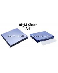 A4 CLEAR RIGID SHEET (10's)