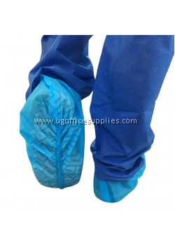 Anti Slip Dust Proof Disposable Non-woven Shoe Covers (100's)