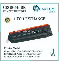 Canon 045 / 045H Cartridge 045 / Cartridge 045H BK / CRG 045H Black High Quality Compatible Color Laser Toner Black Cartridge for Canon LBP611 LBP611cn LBP613 LBP613cdw MF631 MF631Cn MF633 MF633Cdw MF635 MF635Cx Printer Ink